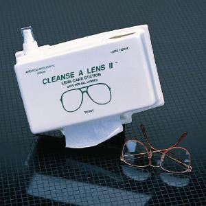 Cleanse-A-Lens Station
