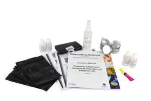 Chemical detection of fingerprints