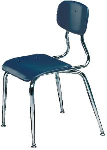 Plastic Student Chair