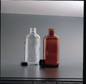 Glass Bottles with Screw Cap