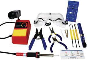 Fundamentals of Soldering Kit with Tools