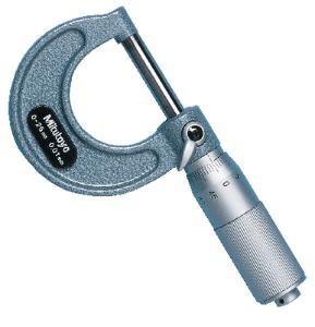 Deluxe Metric Micrometer