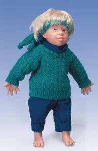 Down Syndrome Doll Kim Male
