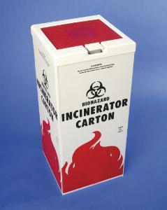 VWR® Biohazard Incinerator Cartons