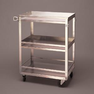 Stainless Steel Cart with Guard Rails