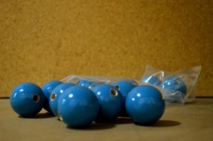 Atoms, Nitrogen Blue