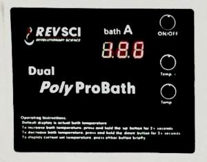 PolyPro Dual Water Bath with Control Panel