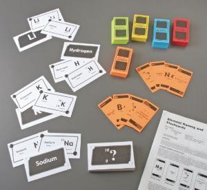 Element Rummy and Flash Cards