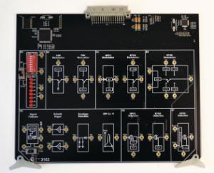 Digital Communication Modulation and Detection Board