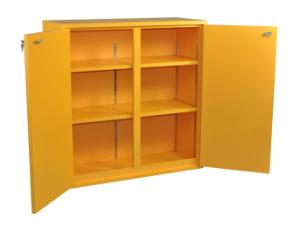 Wooden Flammables Cabinets, SciMatCo