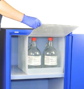 Nitric Acid Isolation Compartment