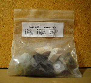 MIneral Sample Kit