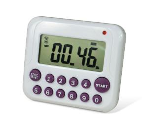 H-B DURAC Single-Channel Electronic Timer with 10-Button Direct Input and Certificate of Calibration, SP SCIENCEWARE