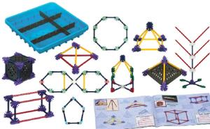K'NEX® Education Elementary Math and Geometry Set
