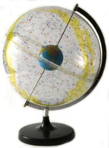 "Celestial star globe, 12"""