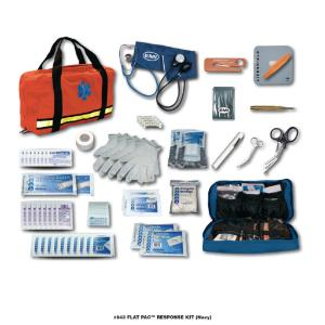 Flat Pac™ Response Kit, Emergency Medical International