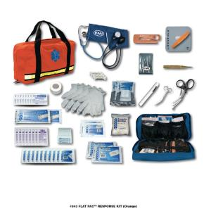 FLAT PAC RESPONSE KIT ORANGE
