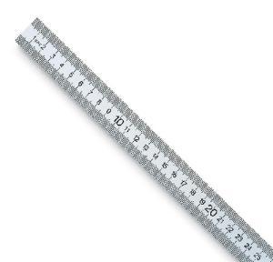 White Plastic Meter Stick
