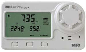 Data logger carbondioxde/temperature/Rh