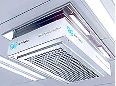 Halo Smart Laboratory air filtration system