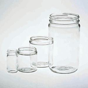 Widemouth Glass Jars
