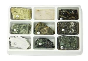 Rock Forming Minerals Collection 2