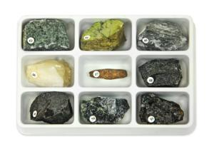 Rock Forming Minerals Collection 5