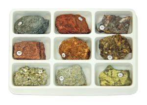Rock Forming Minerals Collection 6
