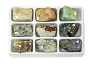 Rock Forming Minerals Collection 1