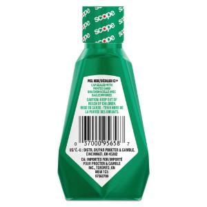 Crest® + Scope Mouthwash Rinse, Classic Mint, Procter & Gamble