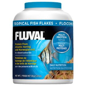 Fluval® Tropical Fish Food Flakes
