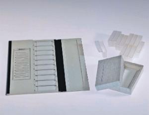 20-Capacity Cardboard Slide Tray
