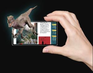 AR Dinosaur book