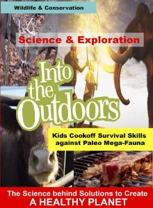 Video cookoff against paleo megafauna