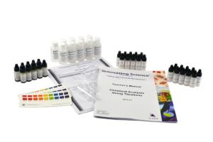 Chemical analysis using titrations