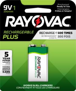 Battery Hydride Recharge, 9 V