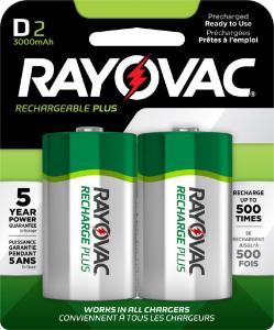 Battery D, 1.2 V