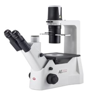 Inverted Binocular Microscope With Binocular Viewing Head