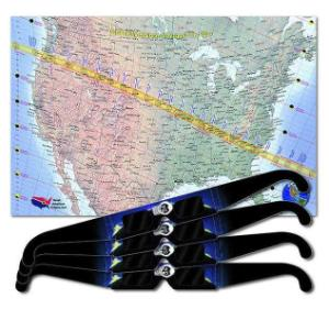 Solar Eclipse Poster and Glasses