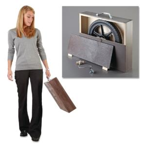 Essential Physics Demo: Gyroscope Suitcase