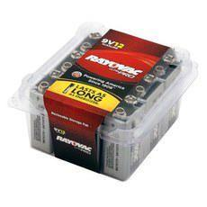 9V Alkaline Batteries