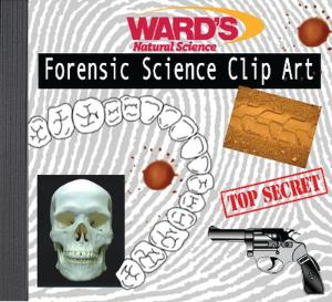 WARD'S Forensic Clip Art CD