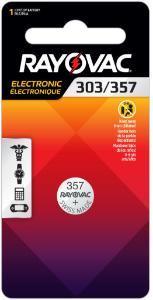 Battery, Silver Oxide, 1.5 V