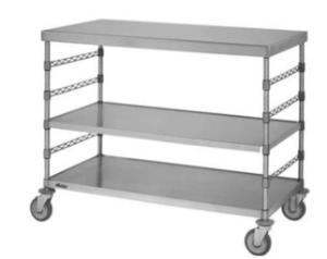Steril-Eze® Horizontal Open Surgical Case Carts, Eagle MHC