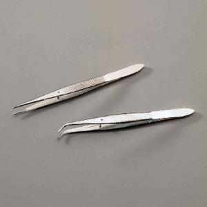 Fine-Point Forceps With Guide Pins