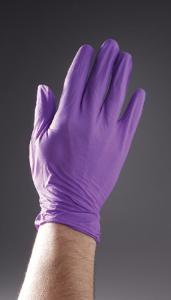 Powder-Free Purple Nitrile Disposable Gloves