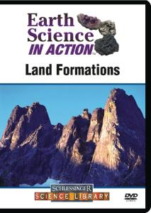 Earth Science in Action: Land Formations DVD