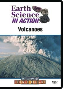 Earth Science in Action: Volcanoes DVD