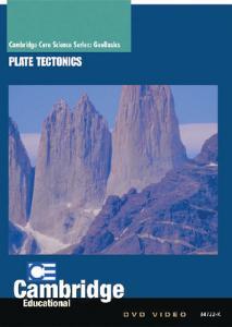 GeoBasics: Plate Tectonics DVD