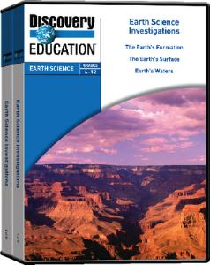 Earth Science Investigations 5-Pack DVD Set